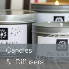 Reed Diffusers and candles that will fill your home with a gorgeous scent.  High quality.