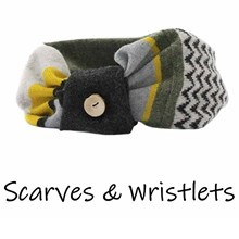 Scarves, Wristlets and Gloves