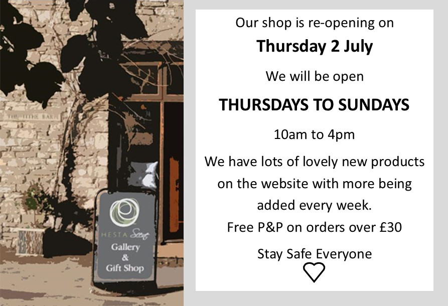 Reopening date for shop and times