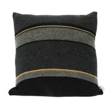 Lambswool Blackbird Cushion