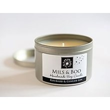 Mils & Boo Soy Wax Candle Amber & Lavender