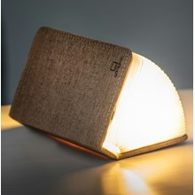 Coffee Brown Fabric Mini Booklight