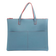 Teal Vegan Friendly Tote Bag