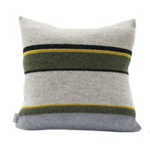 Lambswool Greenfinch Cushion