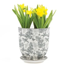 Large Plant Pot Grey Forest