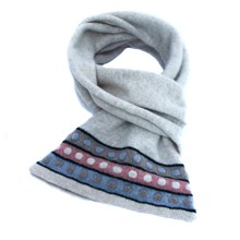 Lambswool Collared Dove Scarf