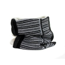 Lambswool Pied Wagtail Cowl