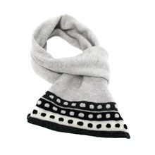 Lambswool Pied Wagtail Scarf