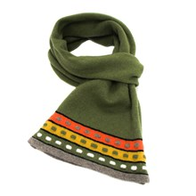 Lambswool Goldcrest Scarf