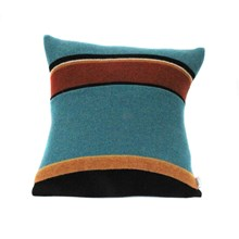 Lambswool Kingfisher Cushion