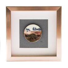 Karen Kennedy Enamel Disc Picture