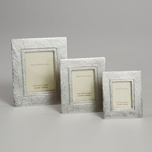 Hand Cast Pewter Mini Frame Raised Line