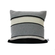 Lambswool Pied Wagtail Cushion