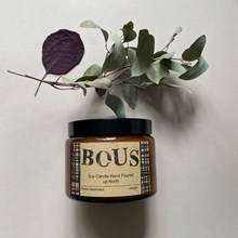 BOUS Rose Hamman Soy Candle