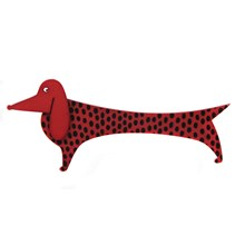 Lene Lundberg Dog Brooch