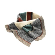 Lambswool Chaffinch Tuck Scarf