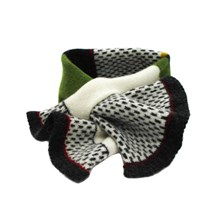 Lambswool Woodpecker Tuck Scarf