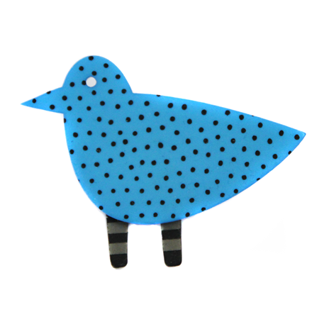 Lene Lundberg Bird Brooch
