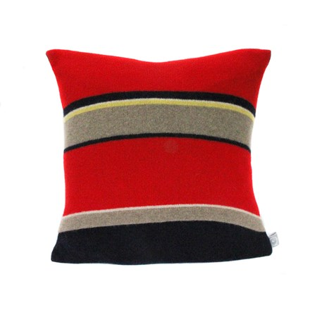Lambswool Goldfinch Cushion