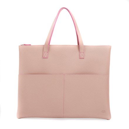 Pink Vegan Friendly Tote Bag