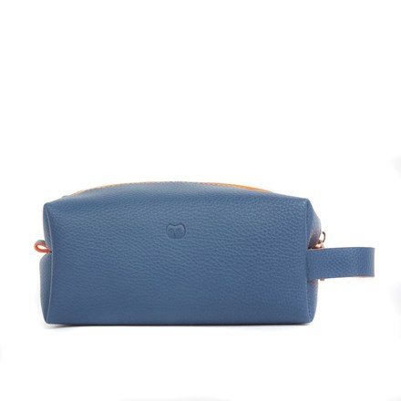 Navy Vegan Friendly Washbag