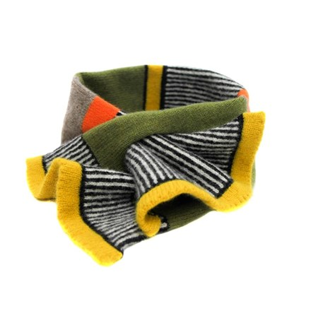 Lambswool Goldcrest Tuck Scarf