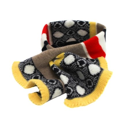Lambswool Goldfinch Tuck Scarf