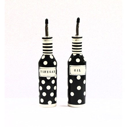 Hand Crafted Oil and Vinegar Pourers