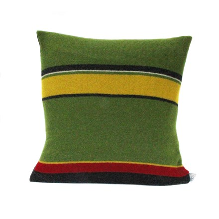 Lambswool Woodpecker Cushion
