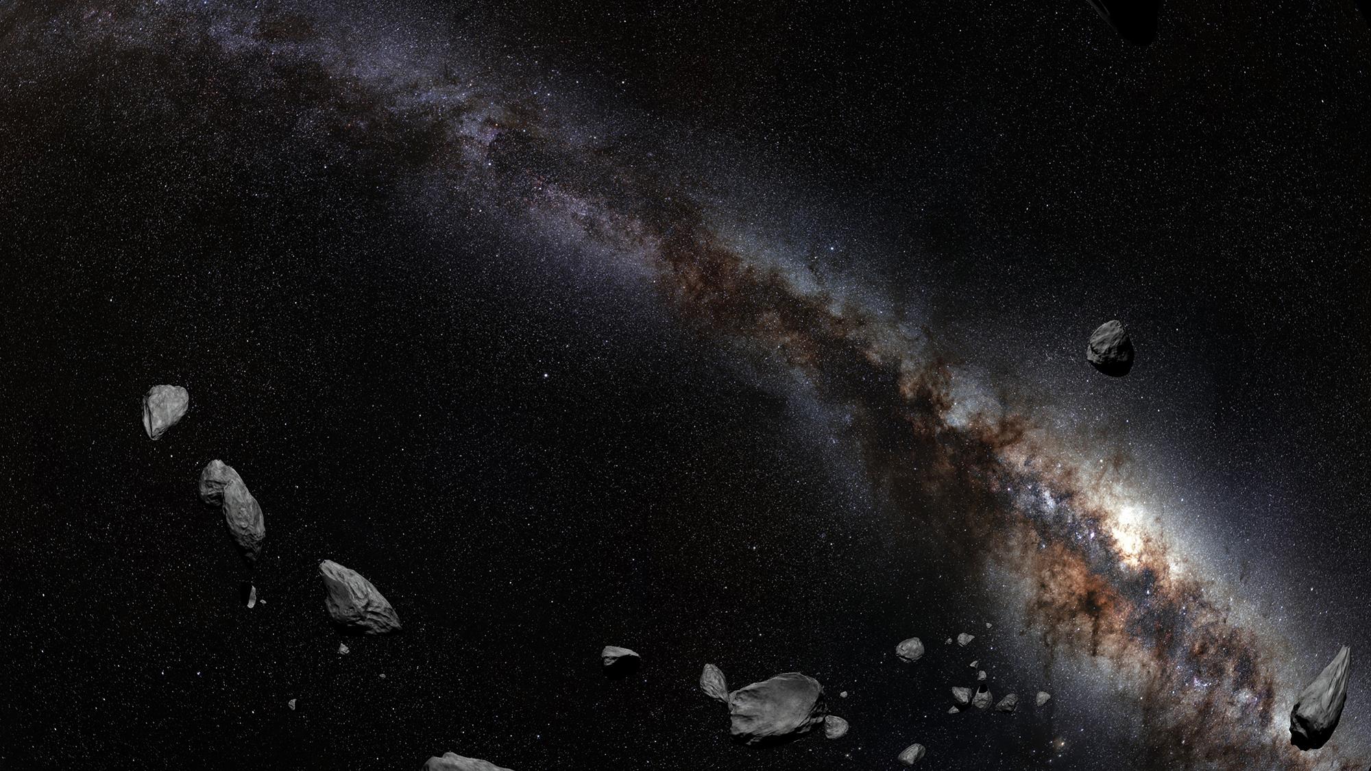 Maata maailmankaikkeuteen -planetaarioelokuva.
