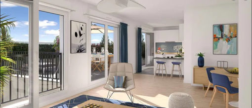 Appartement de 64  m2 - Rungis (94150)