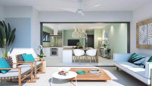 Appartement de 64  m2 - Petite-Île (97429)