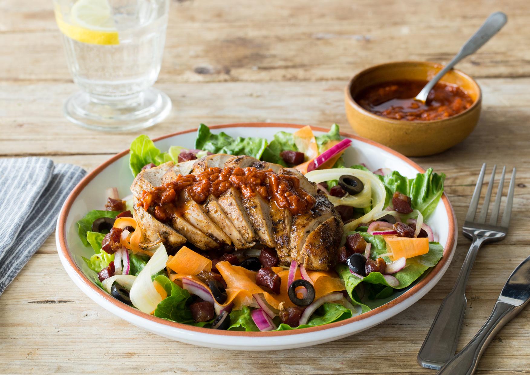 ... Pickled Red Onion & Tomato-Horseradish Vinaigrette Recipe | HelloFresh