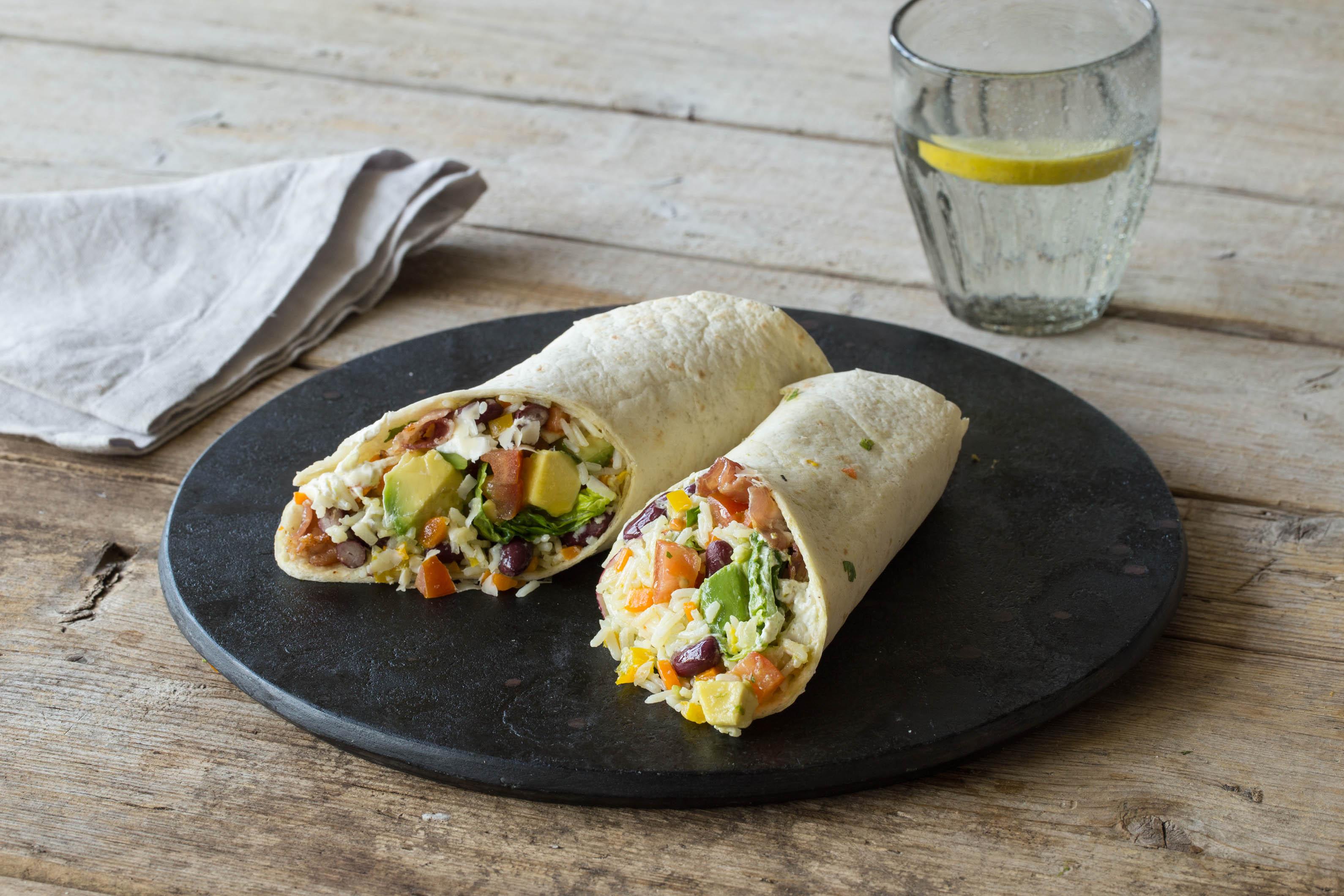 Burrito Baby! Lecker gefüllte Tortillas nach mexikanischer Art