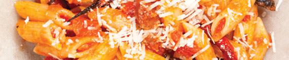 Penne Rigate with Spiced Pork and Tomato Ragu thumb