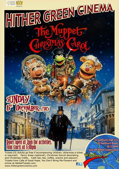 Pop Up Community Cinema The Muppet Christmas Carol This