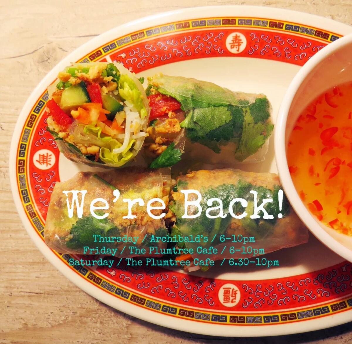 Saigon Street: Delicious Vietnamese PopUp @ Archibald's Cafe