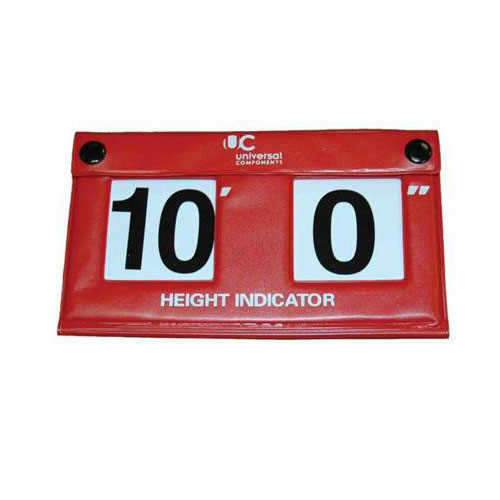 IN CAB HEIGHT INDICATOR IMPERIAL FEET AND INCHES - VINYL