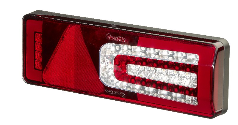 Multi-Function LED Rear Trailer Lamp + Stalk WITHOUT Homogenous Light & Progressive DI, LH