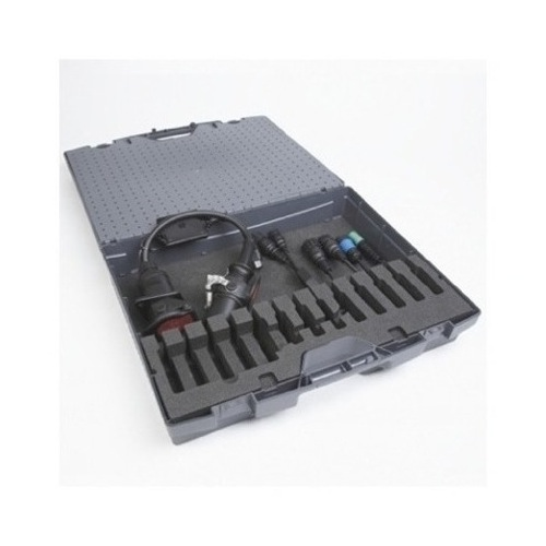 TRAILER 6 CABLE KIT HEAVY DUTY CARRY CASE