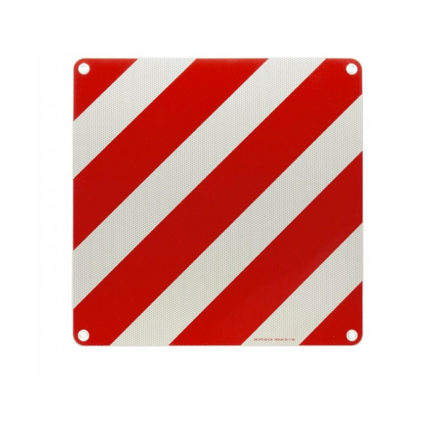 ABNORMAL LOAD WARNING BOARD 500X500X1MM