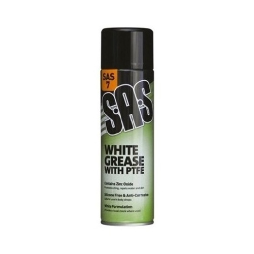 WHITE GREASE WITH PTFE 500ML
