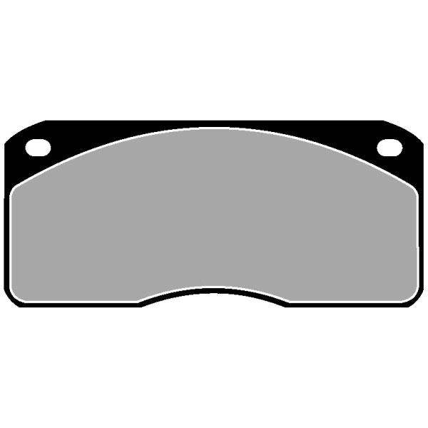TRUCK HGV BRAKE PADS SET CVP001
