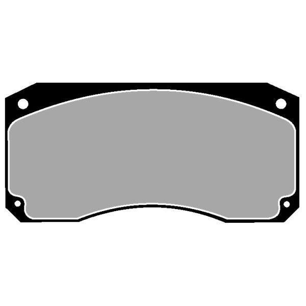 TRUCK HGV BRAKE PADS SET CVP009