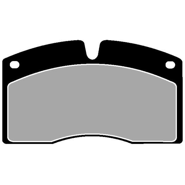 TRUCK HGV BRAKE PADS SET CVP011
