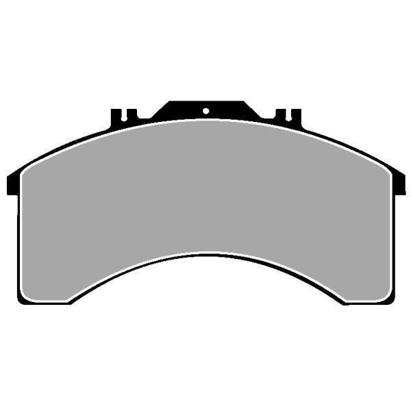 TRUCK HGV BRAKE PADS SET CVP015