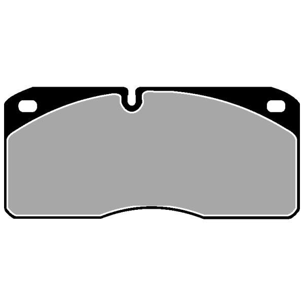 TRUCK HGV BRAKE PADS SET CVP019