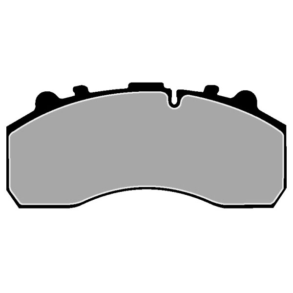 Image of Truck TRUCK HGV BRAKE PADS SET CVP020