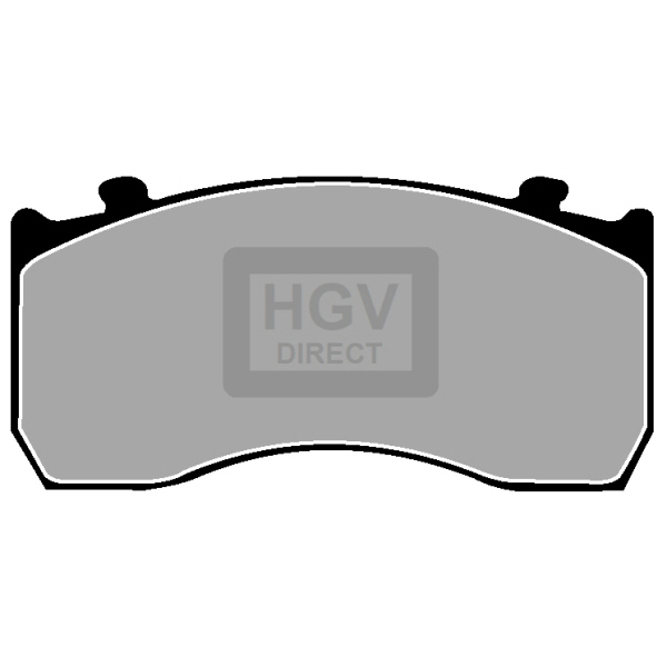 MERCEDES-BENZ ATEGO FRONT OR REAR BRAKE PADS