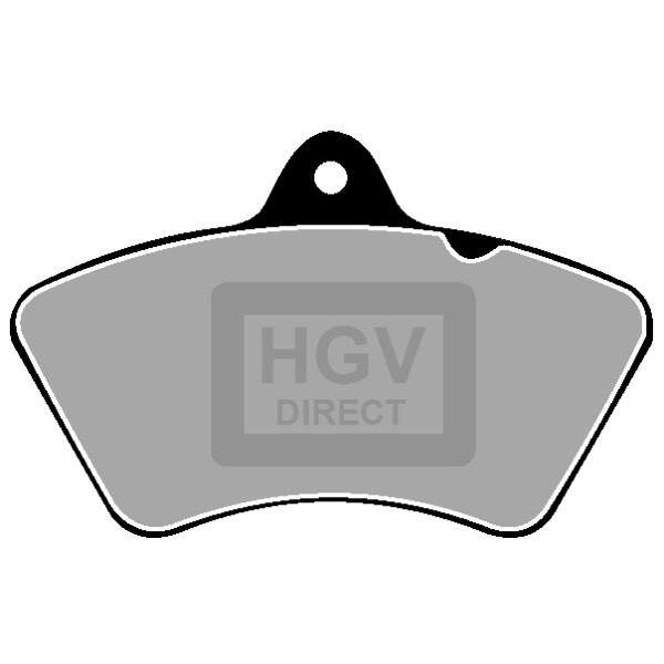 TRUCK HGV BRAKE PADS SET CVP319